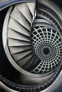 """""""La Espiral"""", una obra creada e inspirada en las escaleras..."""