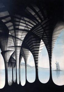 """""""Un Puente Sobre el Mar"""", inspirada en Dubai"""