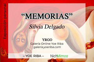 Cartel de la Exposición de Silvia Delgado
